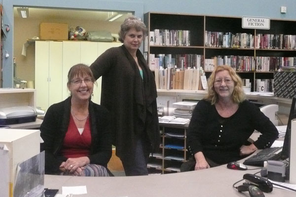 With my Greytown Library colleagues