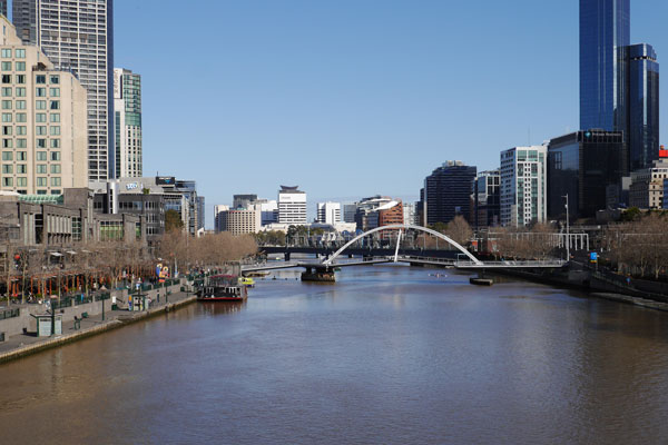 Melb1 - Yarra River by day