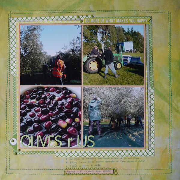 Olives r Us Layout