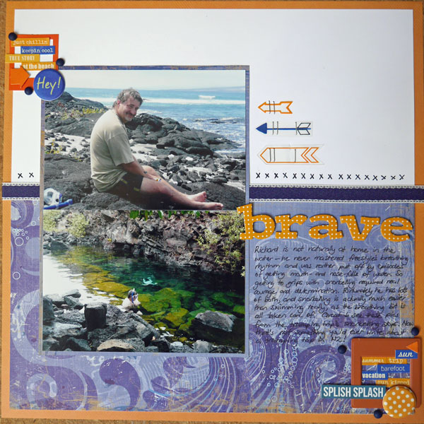 Brave - the story of Richard's snorkelling adventures in Volcano National Park.